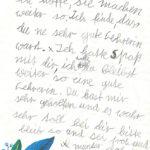 Collien war ein richtiger Wirbelwind, der mit immer neuen Methoden und interessanten Übungen zum Schreiben und Lesen angehalten werden musste. Sie lernte schneller, als sie gedacht hatte und konnte die Therapie bald verlassen. Die Lehrer und Eltern waren sehr froh, dass die Lese- und Rechtschreibschwäche- Therapie bei Frau Rohr so gut angeschlagen hatte.